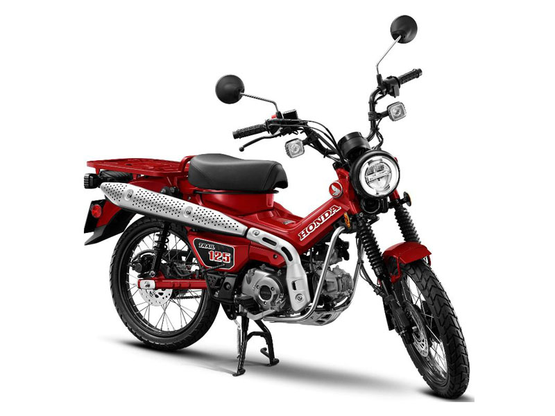 2021 Honda Trail125 ABS in Augusta, Maine - Photo 2