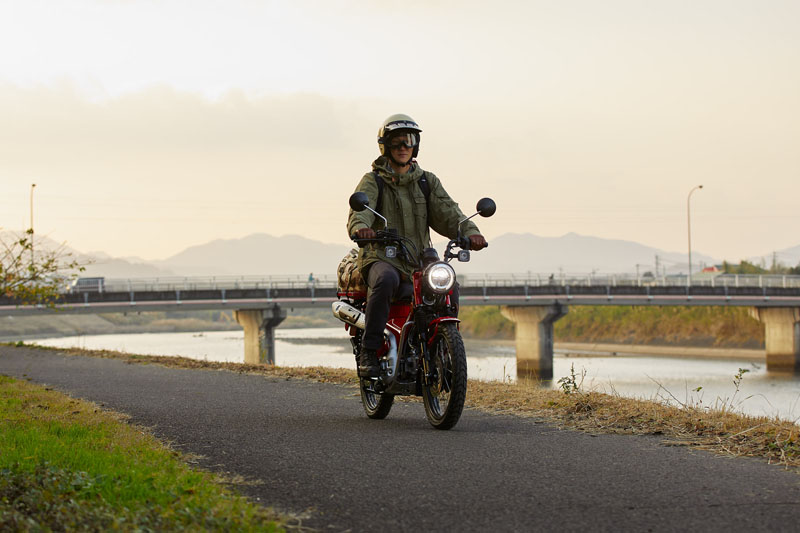 2021 Honda Trail125 ABS in Lewiston, Maine - Photo 8