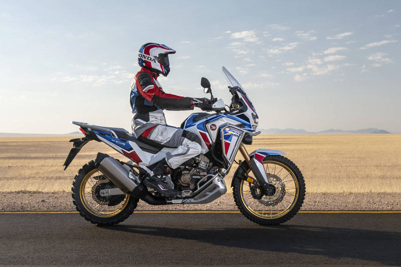2021 Honda Africa Twin DCT in Lincoln, Maine - Photo 3