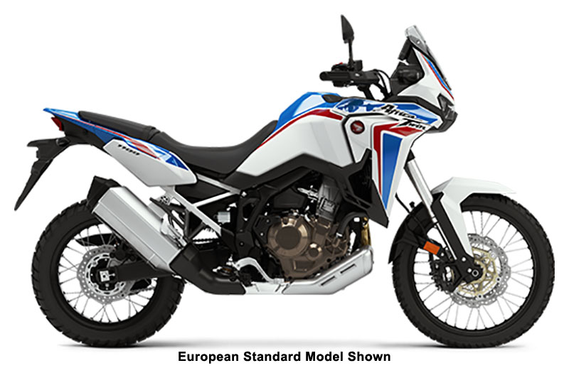 2021 Honda Africa Twin DCT in San Jose, California