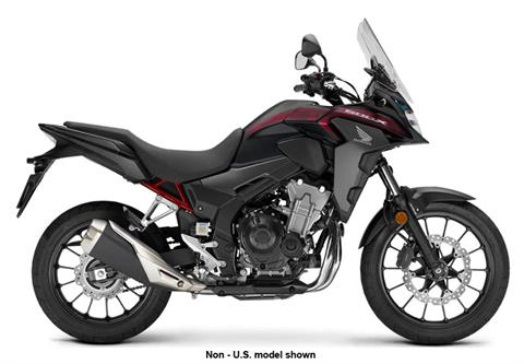 2021 Honda CB500X ABS in Freeport, Illinois