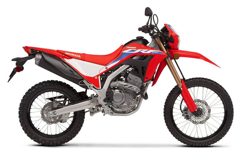 2021 Honda CRF300L in Freeport, Illinois