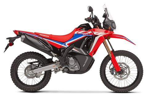 2021 Honda CRF300L Rally in Hollister, California