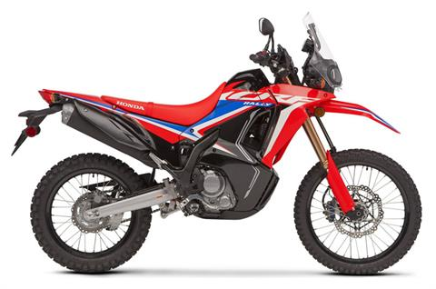 2021 Honda CRF300L Rally ABS in Lakeport, California
