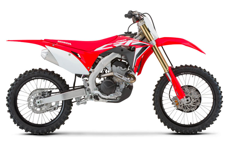 2021 Honda CRF250R in Augusta, Maine - Photo 1