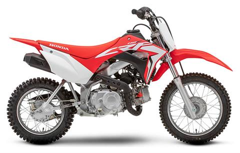 2021 Honda CRF110F in Moline, Illinois