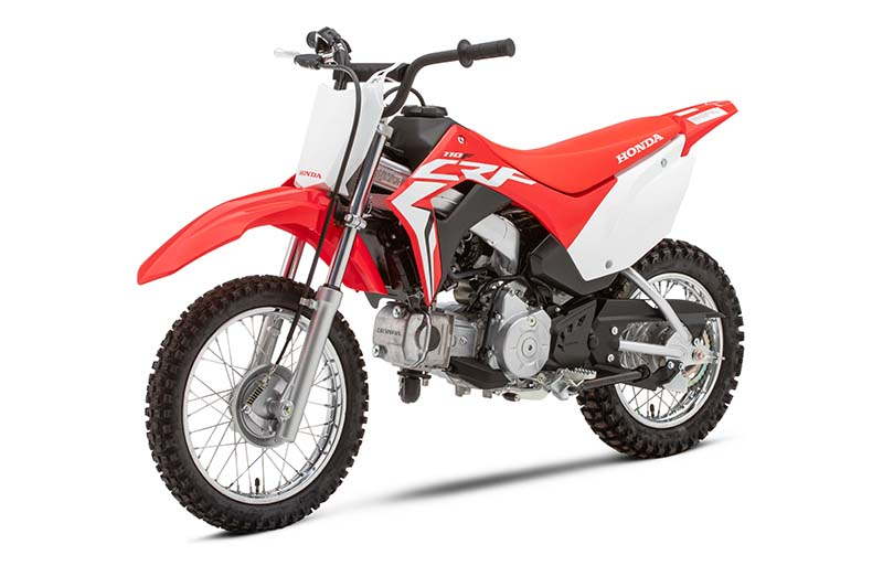 2021 Honda CRF110F in Oak Creek, Wisconsin - Photo 3
