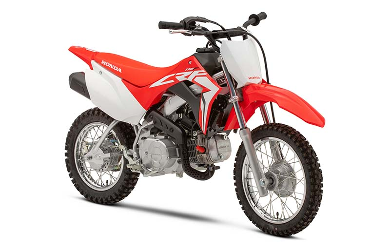 2021 Honda CRF110F in Escanaba, Michigan - Photo 2