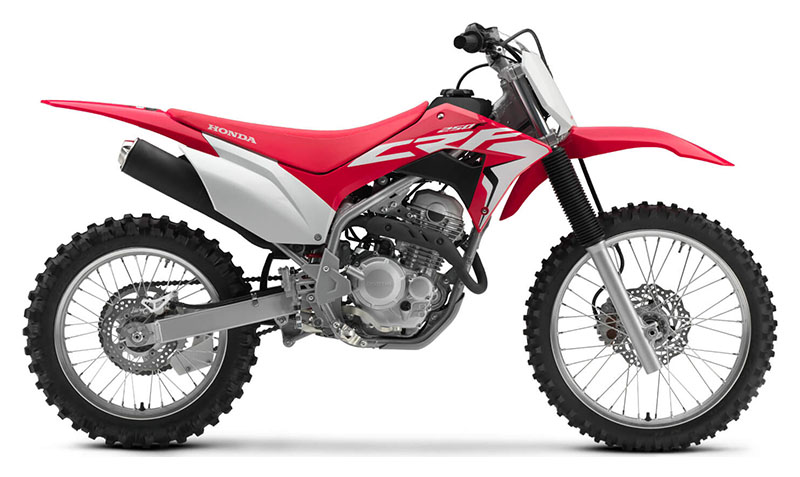 2021 Honda CRF250F in Greeneville, Tennessee - Photo 1
