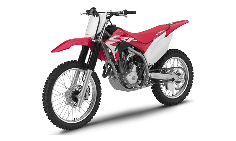 2021 Honda CRF250F in Greeneville, Tennessee - Photo 3