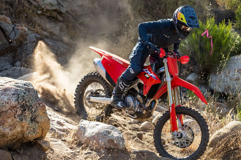 2021 Honda CRF450RX in Lincoln, Maine - Photo 4