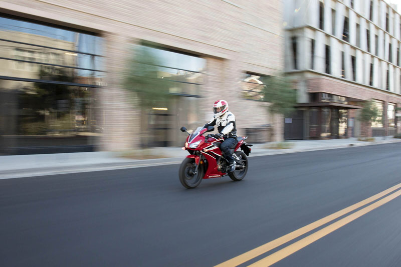 2021 Honda CBR300R in Lewiston, Maine - Photo 6