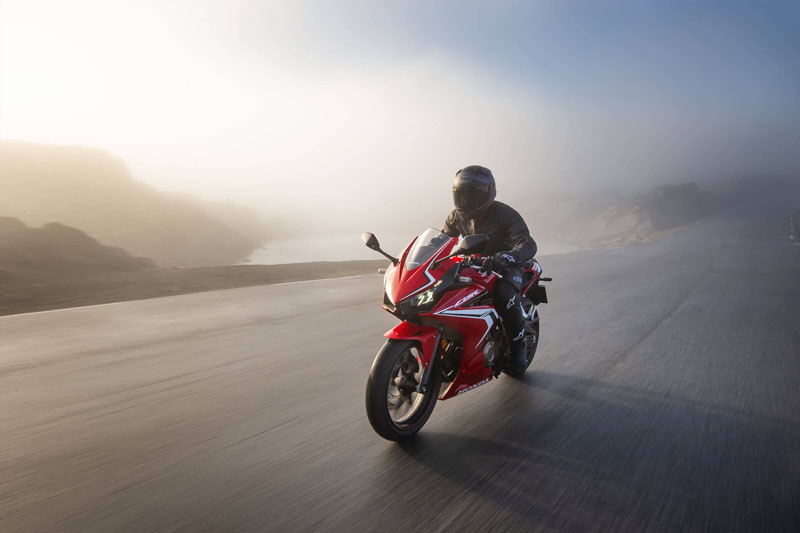 2021 Honda CBR500R ABS in Redding, California - Photo 4