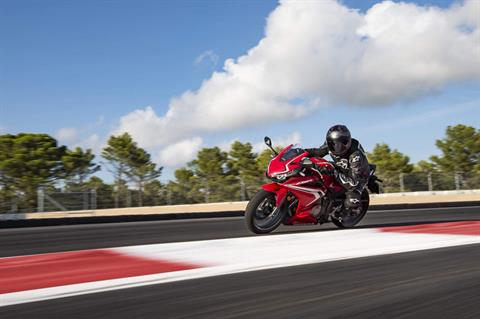 2021 Honda CBR500R ABS in Victorville, California - Photo 3