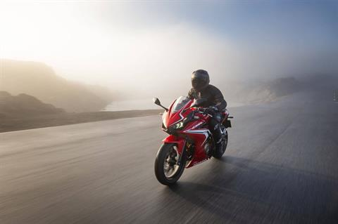 2021 Honda CBR500R ABS in Lewiston, Maine - Photo 4