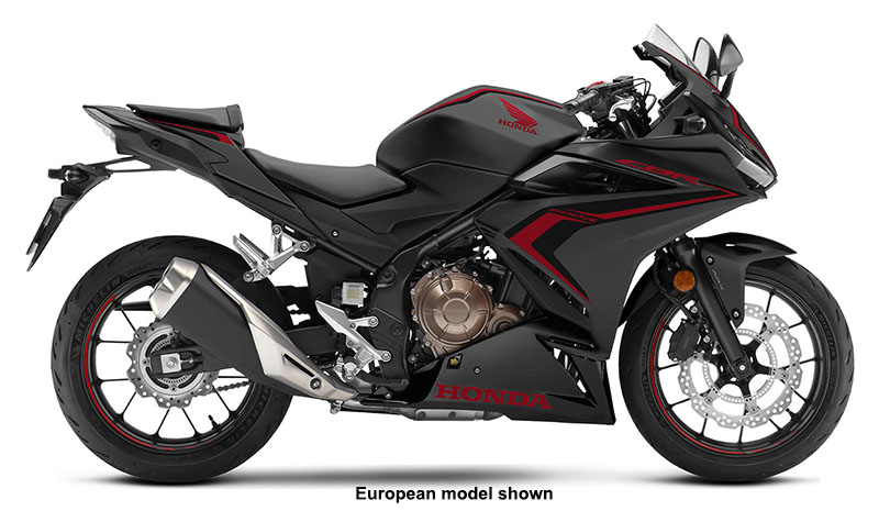 2021 Honda CBR500R ABS in Augusta, Maine - Photo 1