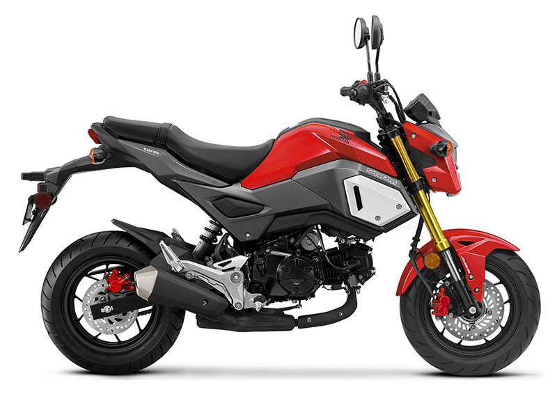 2020 Honda Grom ABS in Iowa City, Iowa