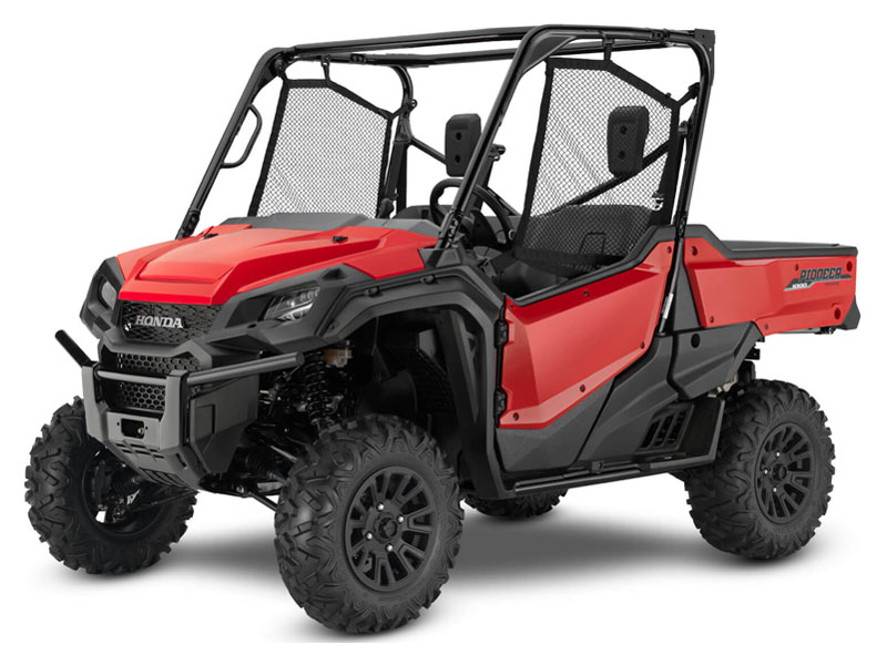 2021 Honda Pioneer 1000 Deluxe in Iowa City, Iowa - Photo 1