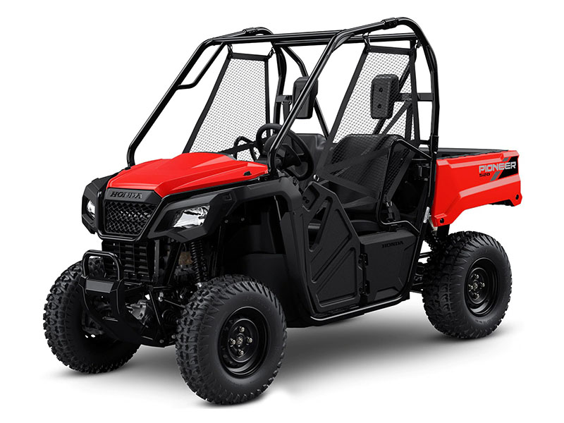 2021 Honda Pioneer 520 in Lewiston, Maine - Photo 1