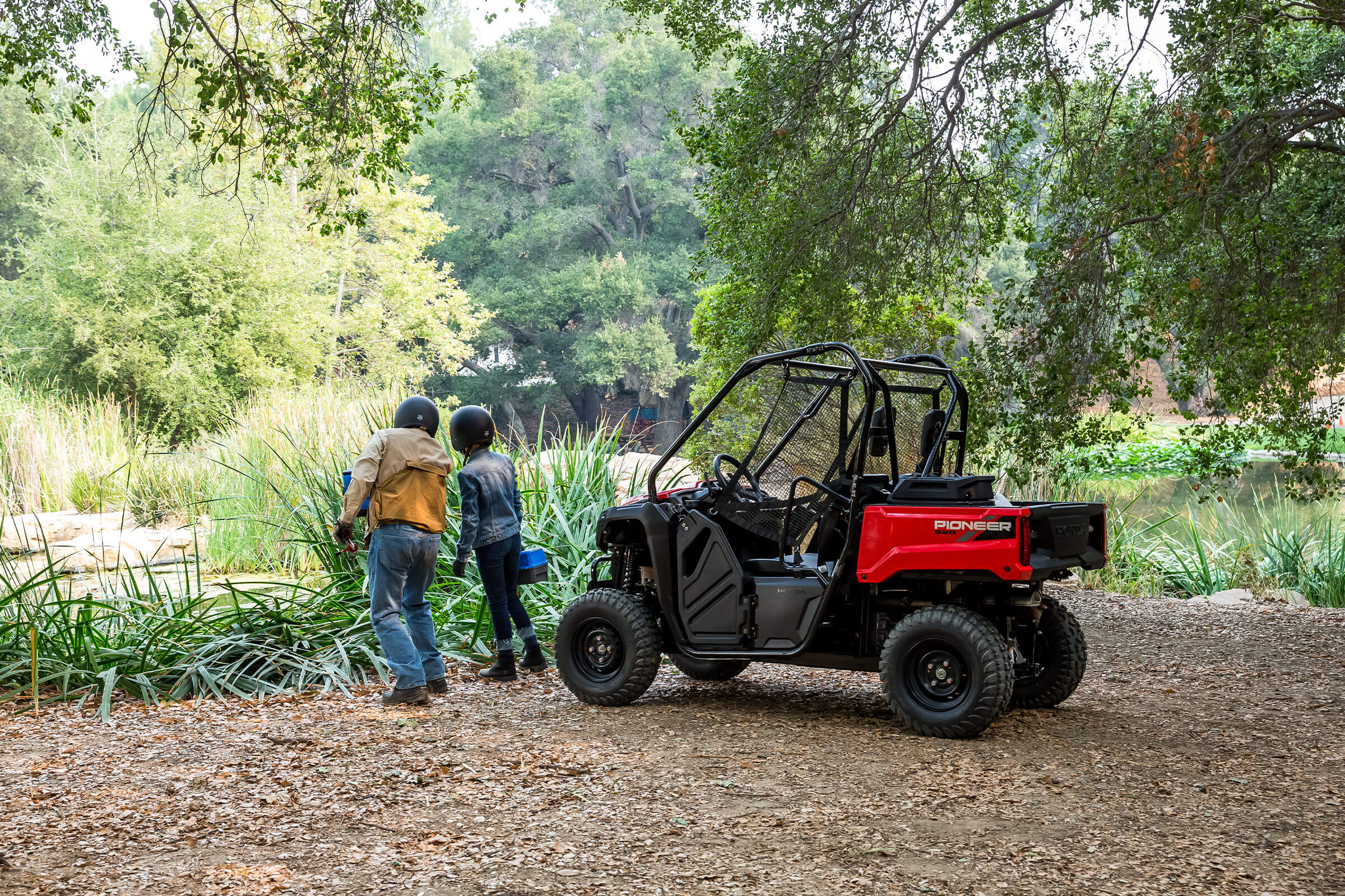 2021 Honda Pioneer 520 in Lewiston, Maine - Photo 2