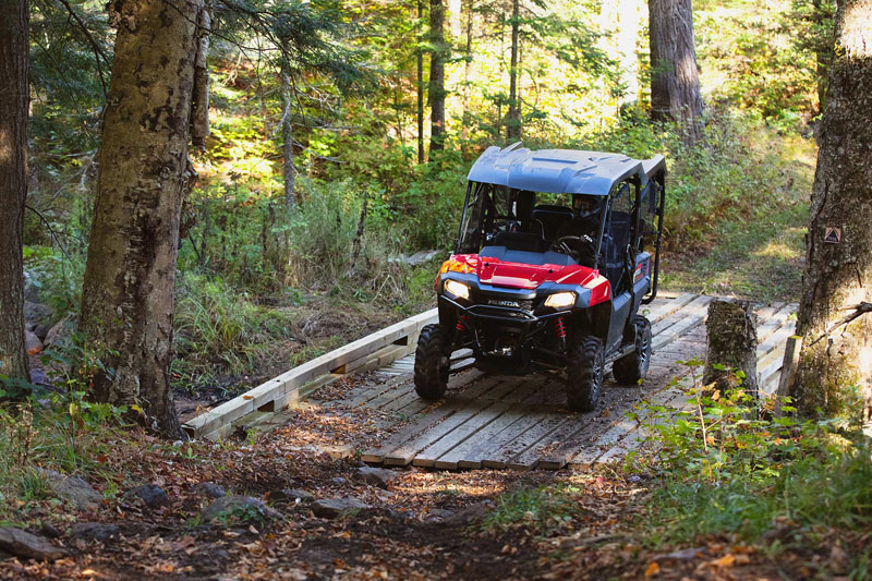 2021 Honda Pioneer 700-4 Deluxe in Sterling, Illinois - Photo 7