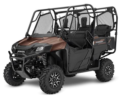 2021 Honda Pioneer 700-4 Deluxe in New Strawn, Kansas - Photo 1