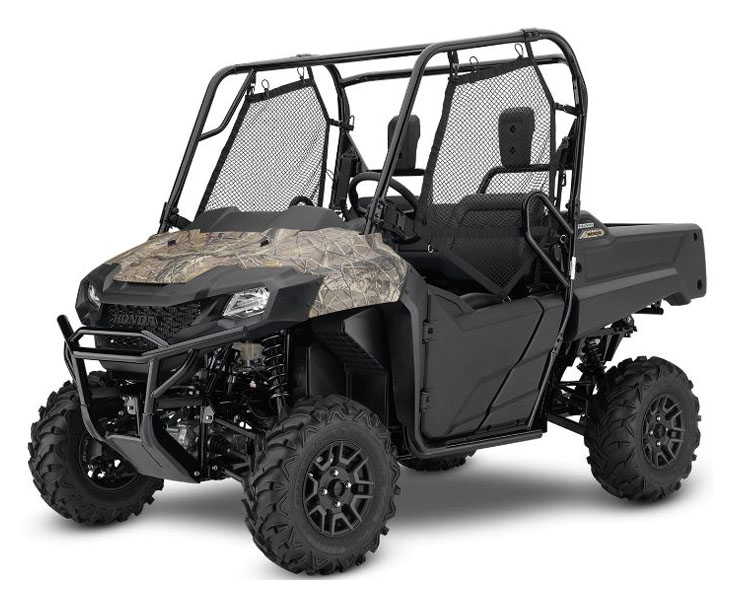 2021 Honda Pioneer 700 Deluxe in Mineral Wells, West Virginia - Photo 1