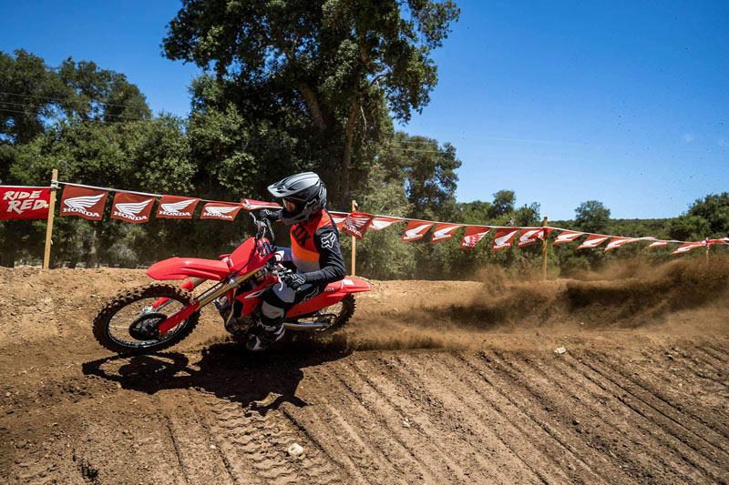 2022 Honda CRF450R in Berkeley, California - Photo 5