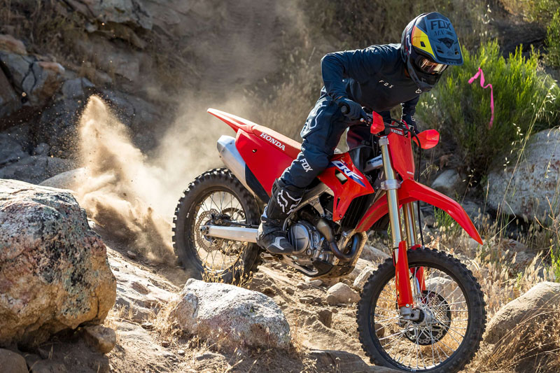 2022 Honda CRF450RX in Grass Valley, California - Photo 4