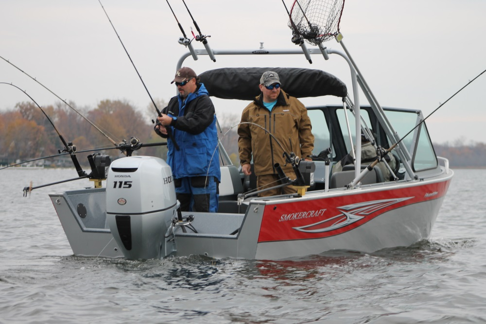 2016 Honda Marine BF115 in Gaylord, Michigan