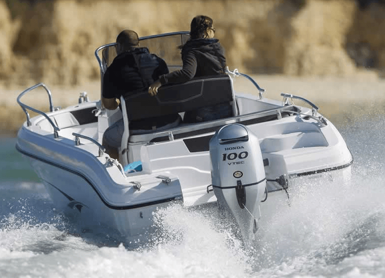 2017 Honda Marine BF100 L Type in Vancouver, British Columbia