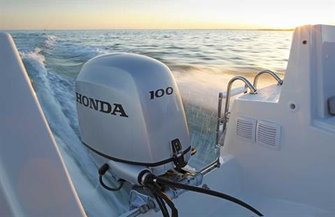 2017 Honda Marine BF100 X Type in Oceanside, New York