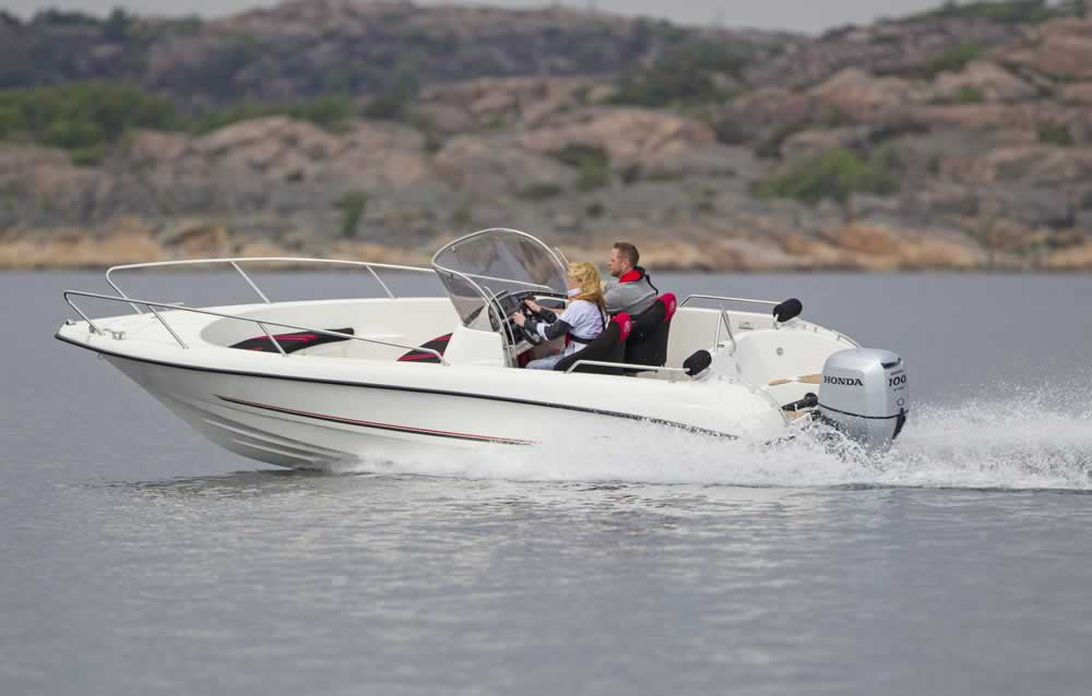 2017 Honda Marine BF100 X Type in Conroe, Texas