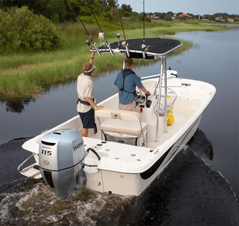 2017 Honda Marine BF115 L Type in Conroe, Texas