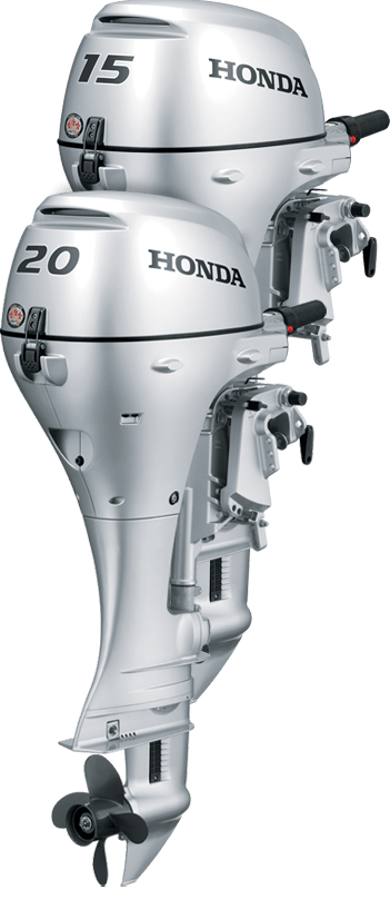 2017 Honda Marine BF15 S Type in Oceanside, New York
