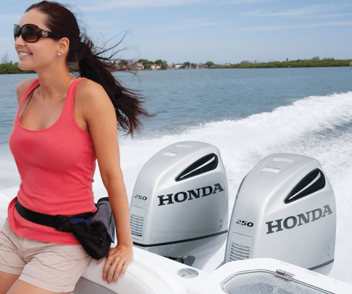 2017 Honda Marine BF250 L Type in Conroe, Texas