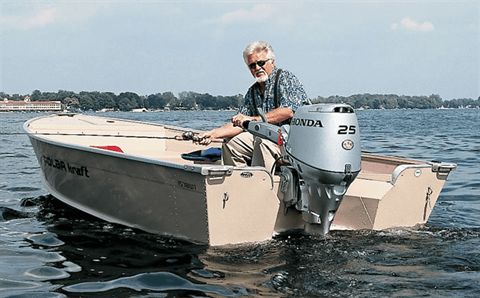 2017 Honda Marine BF25 L Type in Conroe, Texas