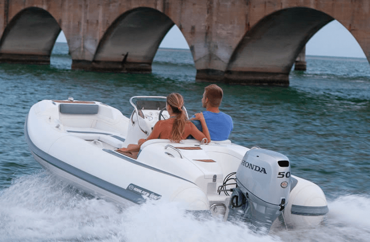 2017 Honda Marine BF50 L Type in Speculator, New York
