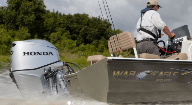 2017 Honda Marine BF60 L Type in Conroe, Texas