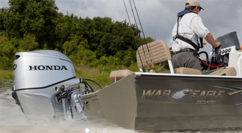 2017 Honda Marine BF60 L Type in Erie, Pennsylvania