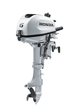 2017 Honda Marine BF6 L Type in Speculator, New York