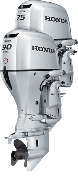 2017 Honda Marine BF90EFI L Type in Erie, Pennsylvania