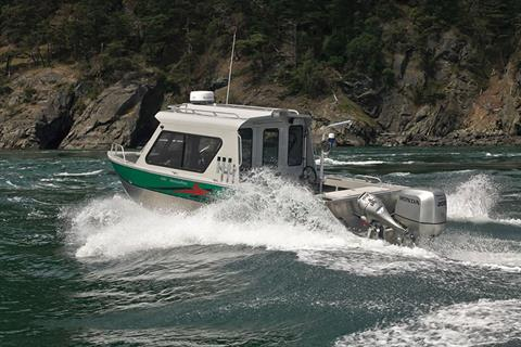 2017 Honda Marine BF200 X Type in Speculator, New York