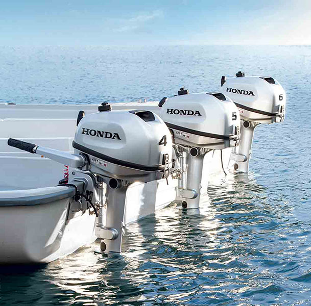 2017 Honda Marine BF4 L Type in Oceanside, New York