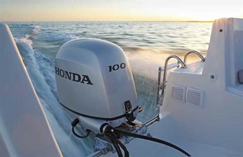 2018 Honda Marine BF100 L Type in Black River Falls, Wisconsin