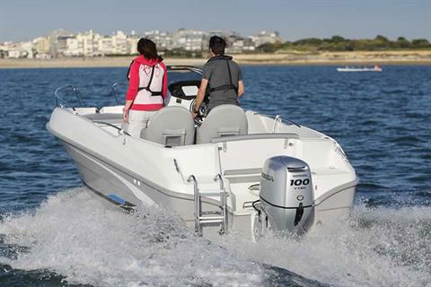 2018 Honda Marine BF100 L Type in Superior, Wisconsin