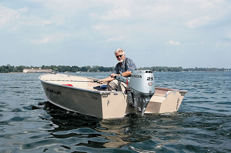 2018 Honda Marine BF25 L Type in Speculator, New York