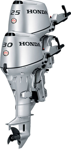 2018 Honda Marine BF25 L Type in Gaylord, Michigan