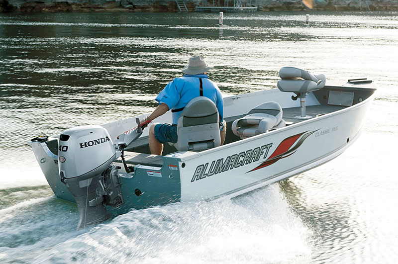 2018 Honda Marine BF40 L Type in Erie, Pennsylvania