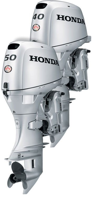 2018 Honda Marine BF50 L Type in Speculator, New York